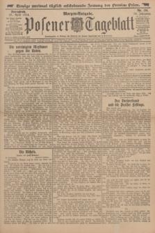 Posener Tageblatt. Jg.53, Nr. 191 (25 April 1914) + dod.