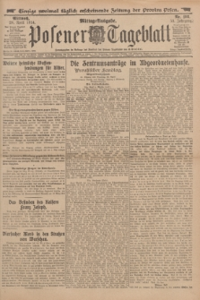 Posener Tageblatt. Jg.53, Nr. 198 (29 April 1914)