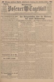 Posener Tageblatt. Jg.53, Nr. 210 (6 Mai 1914)