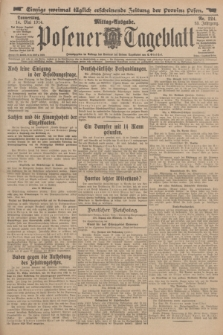 Posener Tageblatt. Jg.53, Nr. 224 (14 Mai 1914)