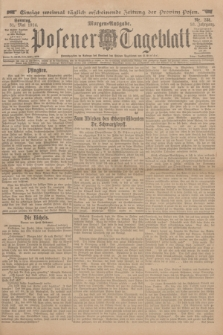 Posener Tageblatt. Jg.53, Nr. 251 (31 Mai 1914) + dod.