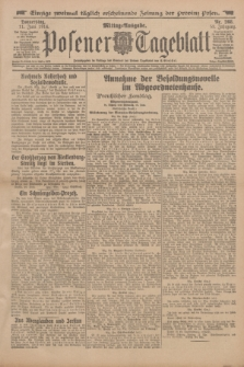 Posener Tageblatt. Jg.53, Nr. 268 (11 Juni 1914)
