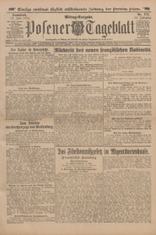 Posener Tageblatt. Jg.53, Nr. 272 (13 Juni 1914)