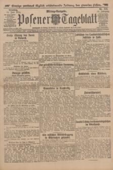 Posener Tageblatt. Jg.53, Nr. 276 (16 Juni 1914)
