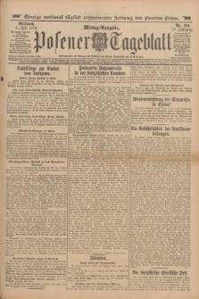 Posener Tageblatt. Jg.53, Nr. 314 (8 Juli 1914)