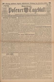 Posener Tageblatt. Jg.53, Nr. 315 (9 Juli 1914) + dod.
