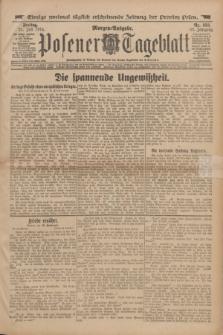 Posener Tageblatt. Jg.53, Nr. 353 (31 Juli 1914) + dod.