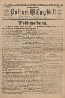 Posener Tageblatt. Jg.53, Nr. 357 (2 August 1914) + dod.