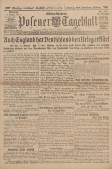 Posener Tageblatt. Jg.53, Nr. 362 (5 August 1914)