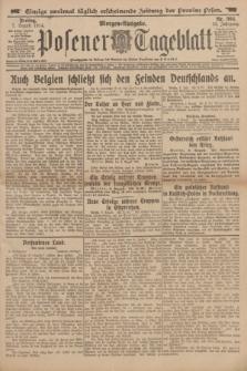 Posener Tageblatt. Jg.53, Nr. 365 (7 August 1914) + dod.