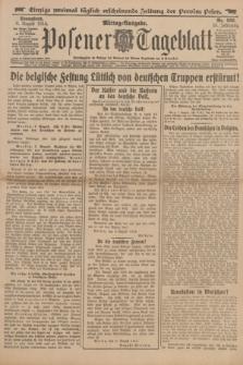 Posener Tageblatt. Jg.53, Nr. 368 (8 August 1914)