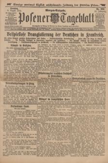 Posener Tageblatt. Jg.53, Nr. 369 (9 August 1914) + dod.