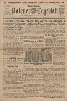 Posener Tageblatt. Jg.53, Nr. 371 (11 August 1914) + dod.