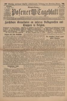 Posener Tageblatt. Jg.53, Nr. 373 (12 August 1914) + dod.
