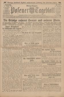 Posener Tageblatt. Jg.53, Nr. 376 (13 August 1914)