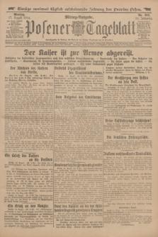 Posener Tageblatt. Jg.53, Nr. 382 (17 August 1914)