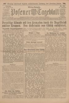 Posener Tageblatt. Jg.53, Nr. 384 (18 August 1914)