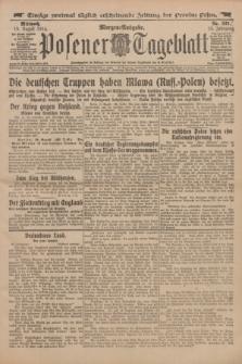 Posener Tageblatt. Jg.53, Nr. 385 (19 August 1914) + dod.