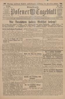 Posener Tageblatt. Jg.53, Nr. 390 (21 August 1914)