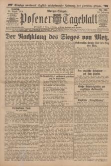 Posener Tageblatt. Jg.53, Nr. 393 (23 August 1914) + dod.