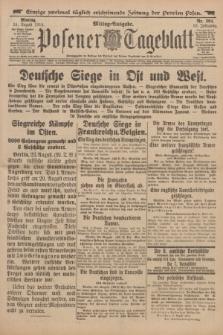 Posener Tageblatt. Jg.53, Nr. 394 (24 August 1914)