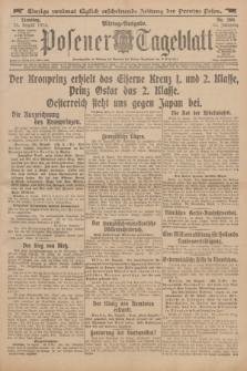 Posener Tageblatt. Jg.53, Nr. 396 (25 August 1914)