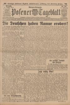 Posener Tageblatt. Jg.53, Nr. 397 (26 August 1914) + dod.