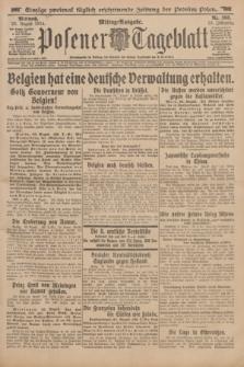 Posener Tageblatt. Jg.53, Nr. 398 (26 August 1914)