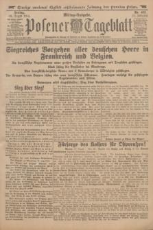 Posener Tageblatt. Jg.53, Nr. 402 (28 August 1914)