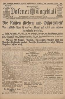 Posener Tageblatt. Jg.53, Nr. 404 (29 August 1914)