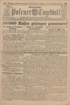 Posener Tageblatt. Jg.53, Nr. 406 (31 August 1914)