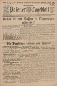 Posener Tageblatt. Jg.53, Nr. 414 (4 September 1914)