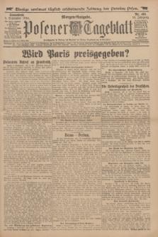 Posener Tageblatt. Jg.53, Nr. 415 (5 September 1914) + dod.