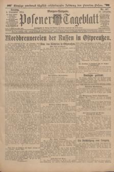Posener Tageblatt. Jg.53, Nr. 417 (6 September 1914) + dod.