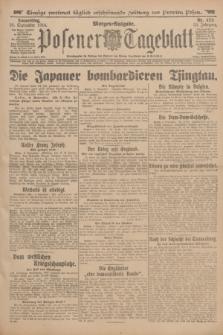 Posener Tageblatt. Jg.53, Nr. 423 (10 September 1914) + dod.