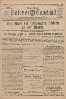 Posener Tageblatt. Jg.53, Nr. 425 (11 September 1914) + dod.