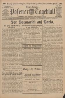Posener Tageblatt. Jg.53, Nr. 427 (12 September 1914) + dod.
