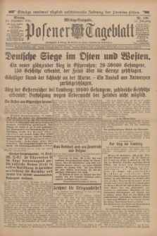 Posener Tageblatt. Jg.53, Nr. 430 (14 September 1914)