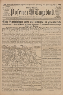Posener Tageblatt. Jg.53, Nr. 444 (22 September 1914)