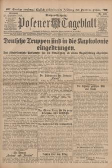 Posener Tageblatt. Jg.53, Nr. 445 (23 September 1914) + dod.