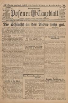 Posener Tageblatt. Jg.53, Nr. 456 (29 September 1914)