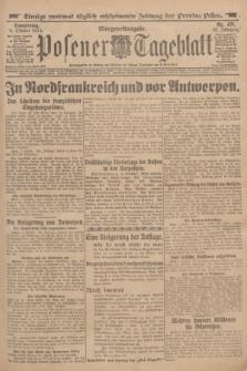 Posener Tageblatt. Jg.53, Nr. 471 (8 Oktober 1914) + dod.