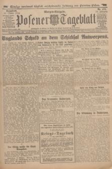 Posener Tageblatt. Jg.53, Nr. 475 (10 Oktober 1914) + dod.