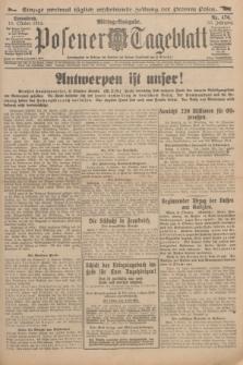 Posener Tageblatt. Jg.53, Nr. 476 (10 Oktober 1914)