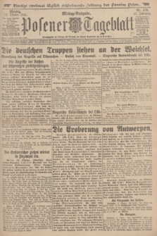 Posener Tageblatt. Jg.53, Nr. 478 (12 Oktober 1914)