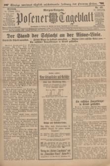 Posener Tageblatt. Jg.53, Nr. 481 (14 Oktober 1914) + dod.