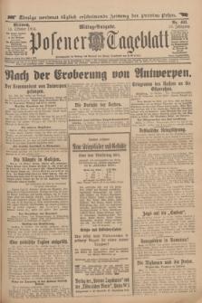 Posener Tageblatt. Jg.53, Nr. 482 (14 Oktober 1914)