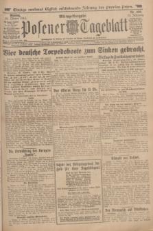 Posener Tageblatt. Jg.53, Nr. 490 (19 Oktober 1914)