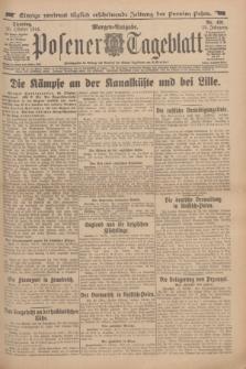 Posener Tageblatt. Jg.53, Nr. 491 (20 Oktober 1914)