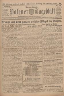 Posener Tageblatt. Jg.53, Nr. 499 (24 Oktober 1914) + dod.
